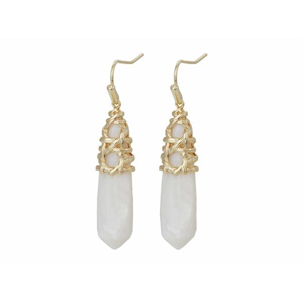 ケンドラスコット レディース アクセサリー セールSALE%OFF ピアス 捧呈 イヤリング Gold 全商品無料サイズ交換 Earrings Drop Natalie Mussel White