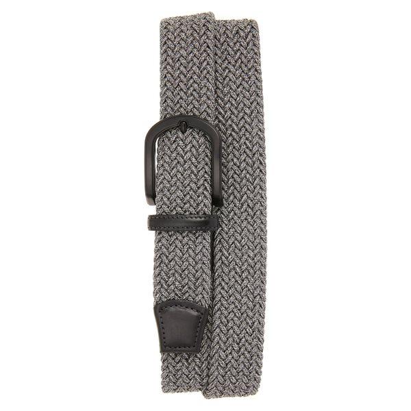 トリノ メンズ ベルト アクセサリー Torino Braided Mlange Belts Grey
