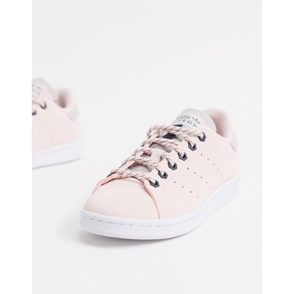 アディダスオリジナルス レディース スニーカー シューズ adidas Originals Stan Smith sneaker in pink Pink