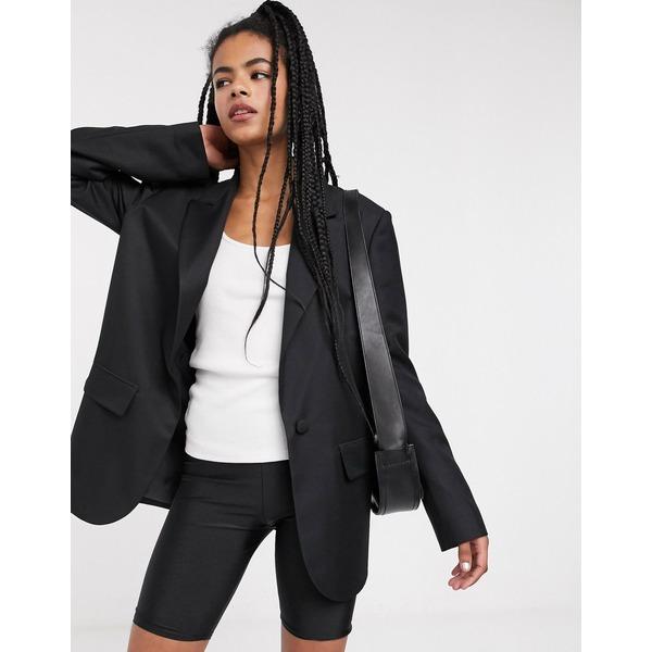 エイソス レディース ジャケット&ブルゾン アウター ASOS DESIGN perfect blazer Black
