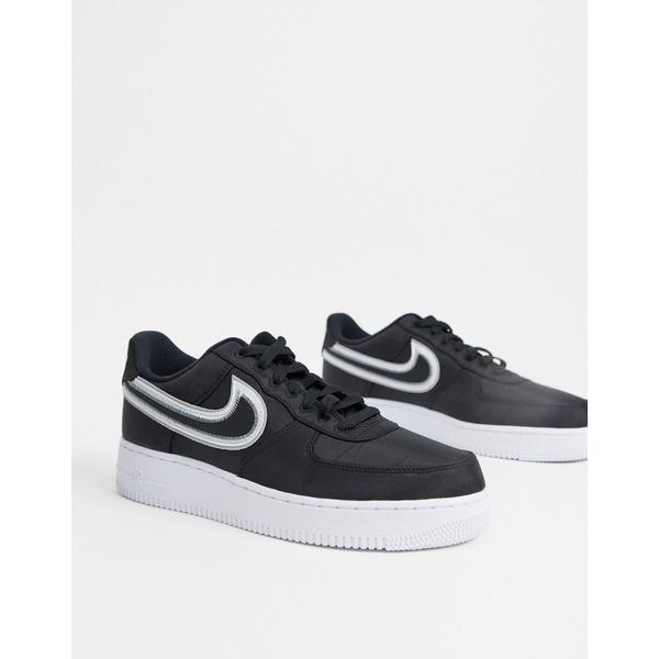 ナイキ メンズ スニーカー シューズ Nike Air Force 1 '07 LV8 1 sneakers in black Black