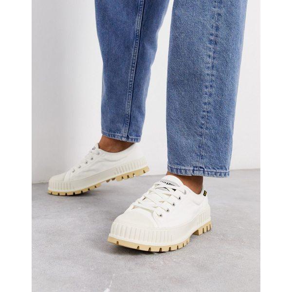 パラディウム メンズ スニーカー シューズ Palladium pallashock og sneakers in white White