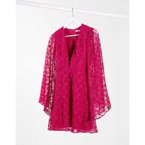 テルーラ レディース ワンピース トップス Talulah so sweet mini dress Pink