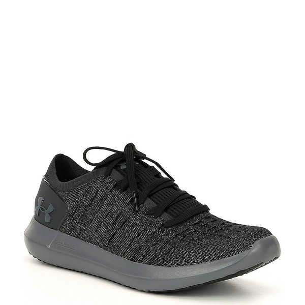 アンダーアーマー メンズ スニーカー シューズ Men's Slingride 2 Sneakers Black/Pitch Gray/Pitch Gray