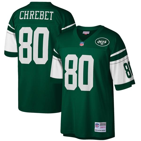 ミッチェル&ネス メンズ ユニフォーム トップス Wayne Chrebet New York Jets Mitchell & Ness Retired Player Legacy Replica Jersey Green