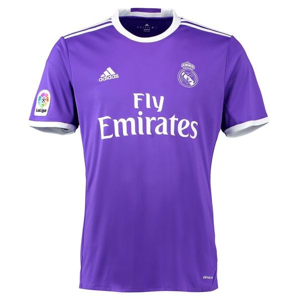 アディダス メンズ ユニフォーム トップス Real Madrid adidas 2016/17 Replica Away Jersey Purple