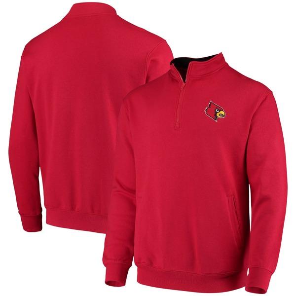 コロシアム メンズ ジャケット&ブルゾン アウター Louisville Cardinals Colosseum Tortugas Logo QuarterZip Jacket Black