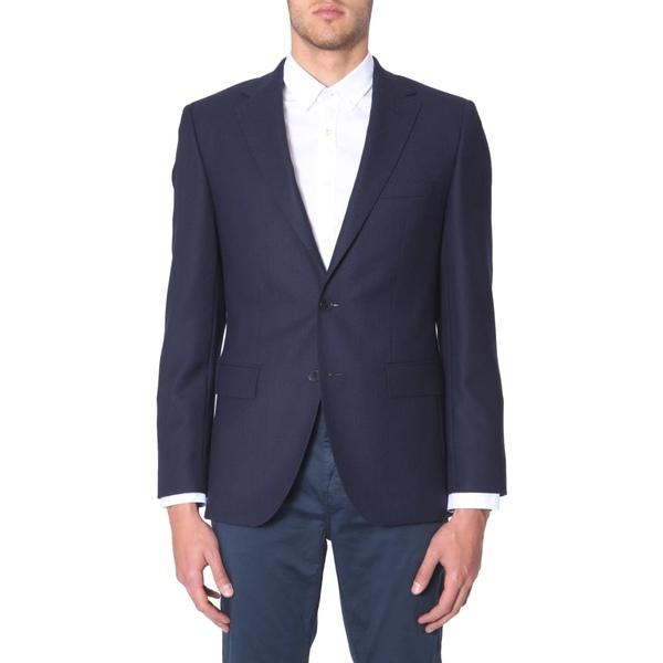 ヒューゴボス メンズ ジャケット&ブルゾン アウター Hugo Boss Jewels 5 Jacket BLU