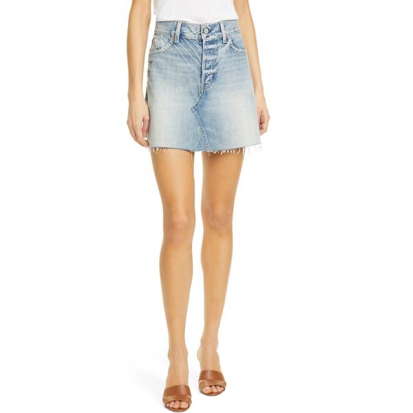 トレーブ レディース スカート ボトムス Leigh Denim Miniskirt Under Pressure