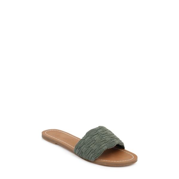 スプレンディット レディース サンダル シューズ Marilyn Slide Sandal Desert Khaki Fabric