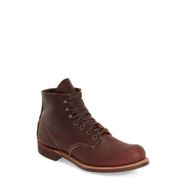 レッドウィング メンズ ブーツ&レインブーツ シューズ Blacksmith Boot Brair Oil Slick Leather