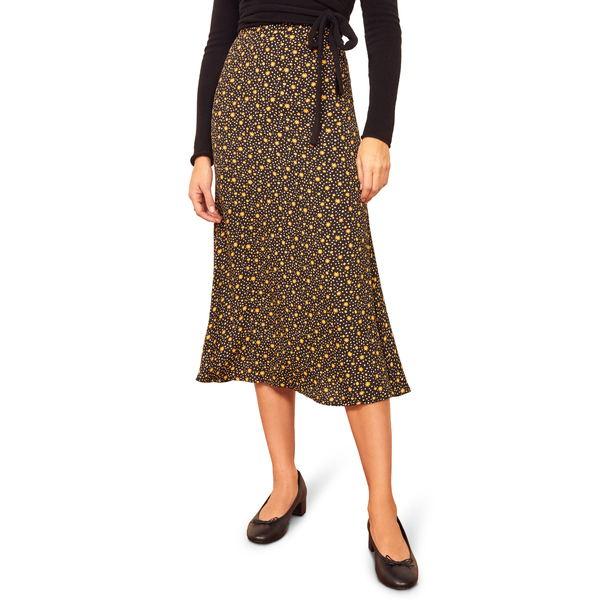 リフォメーション レディース スカート ボトムス Bea Midi Skirt Carolina