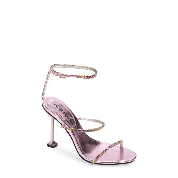 ジェフリー キャンベル レディース サンダル シューズ Demonic Sandal Lilac Metallic Patel Multi