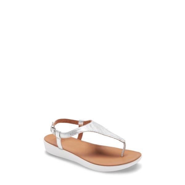フィットフロップ レディース サンダル シューズ Lainey Sandal Silver Leather