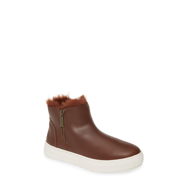 ジェースライズ レディース ブーツ&レインブーツ シューズ Poppy Waterproof Bootie Light Brown Leather