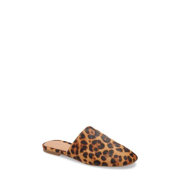 メイドウェル レディース サンダル シューズ The Cory Mule Leopard Calf Hair