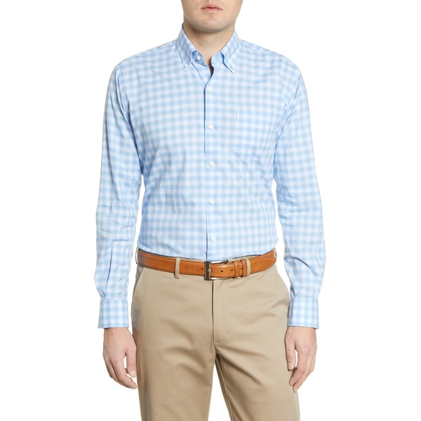 ピーター・ミラー メンズ シャツ トップス Judson Check Button-Down Shirt Cottage Blue