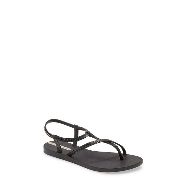 イパネマ レディース サンダル シューズ Aphrodite Strappy Waterproof Sandal Black/ Black