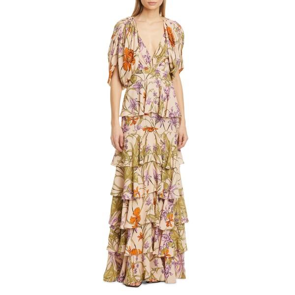 ジョハンナ・オーティズ レディース ワンピース トップス Print Maxi Dress Natural/ Olive