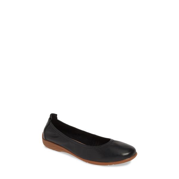 ジョセフセイベル レディース サンダル シューズ Fenja 01 Flat Black Leather