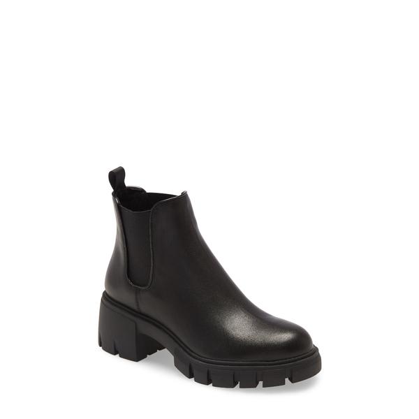 スティーブ マデン レディース ブーツ&レインブーツ シューズ Howler Bootie Black Leather