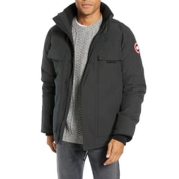 カナダグース メンズ ジャケット&ブルゾン アウター Forester Slim Fit Jacket Black