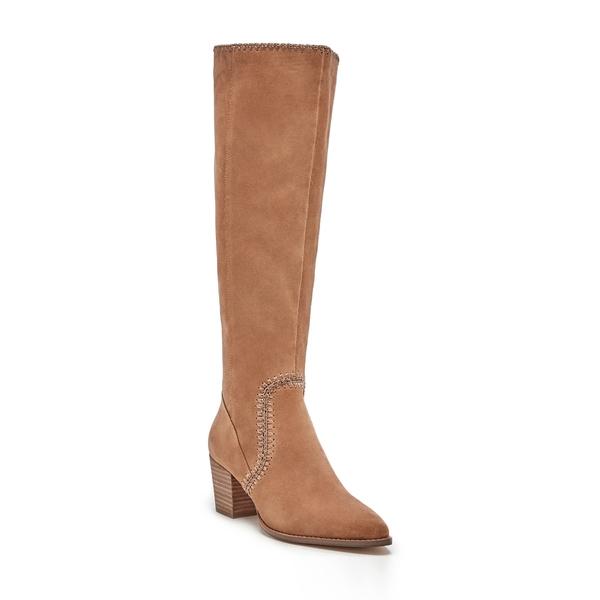 ソロソサエティ レディース ブーツ&レインブーツ シューズ Alexie Knee High Boot Walnut Leather