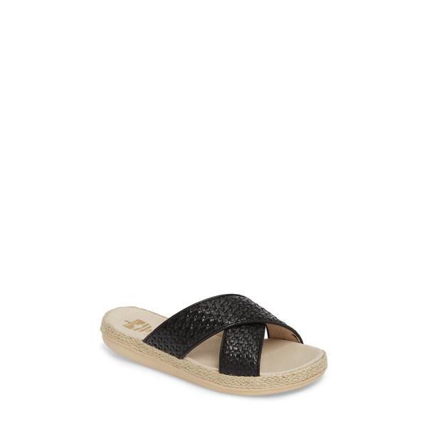 ロイヤルカナディアン レディース サンダル シューズ Glencairn Sandal Black Leather