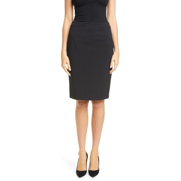 ボス レディース スカート ボトムス Vaxine Textured Pencil Skirt Black