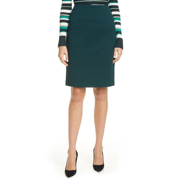 ボス レディース スカート ボトムス Vaxine Textured Pencil Skirt Pine