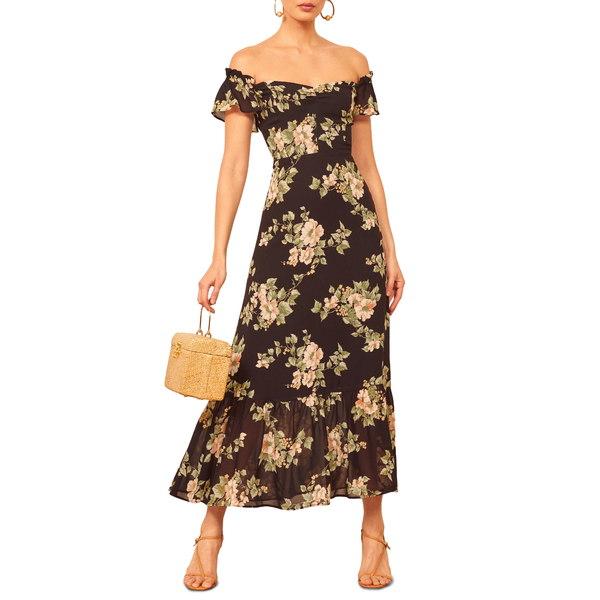 リフォメーション レディース ワンピース トップス Butterfly Midi Dress Arielle