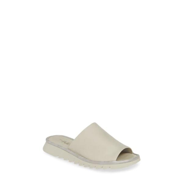 ザフレックス レディース サンダル シューズ Shore Thing Slide Sandal Stone Vacchetta Leather