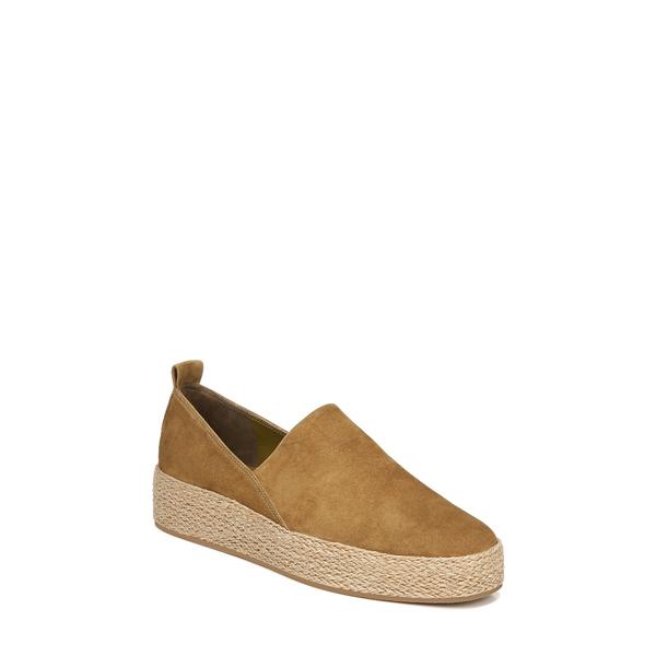 ヴィンス レディース スニーカー シューズ Saxon Espadrille Platform Sneaker Olive Wood