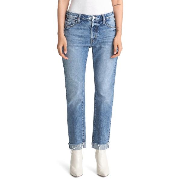 マザー レディース デニムパンツ ボトムス The Scrapper High Waist Frayed Cuff Ankle Jeans Take Me Higher
