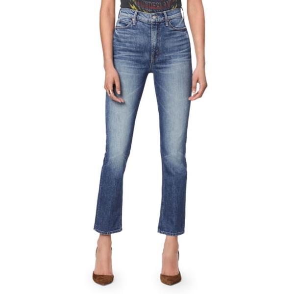 マザー レディース デニムパンツ ボトムス The Dazzler Ankle Straight Leg Jeans Cowboys Dont Cry