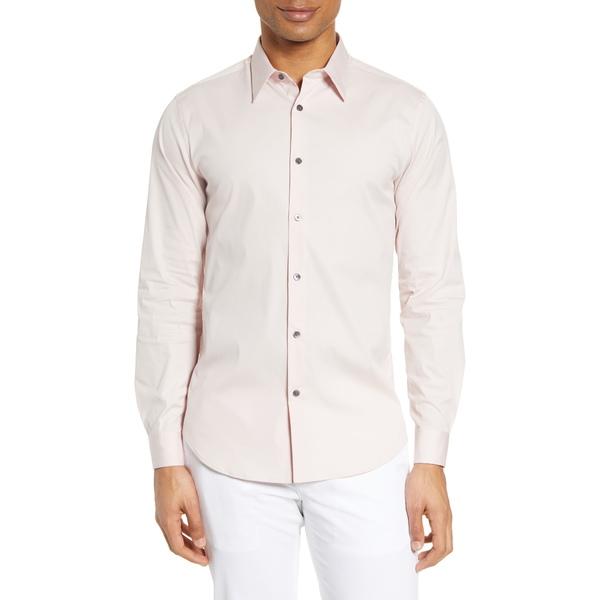 セオリー メンズ シャツ トップス Sylvain Slim Fit Button-Up Dress Shirt Pink Mist