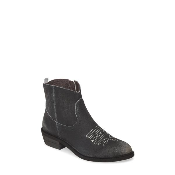 バンドオブジプシーズ レディース ブーツ&レインブーツ シューズ Montrose Bootie Black Crackle Leather