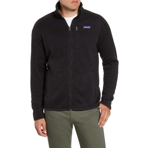 パタゴニア メンズ ジャケット&ブルゾン アウター Better Sweater Zip Jacket Black
