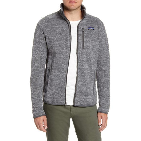 パタゴニア メンズ ジャケット&ブルゾン アウター Better Sweater Zip Jacket Nickel