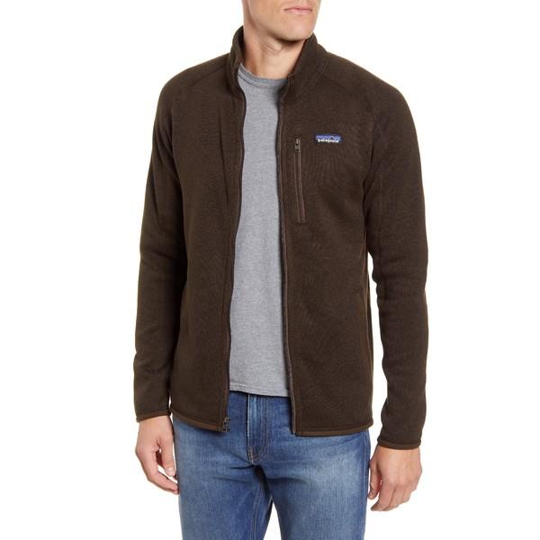 パタゴニア メンズ ジャケット&ブルゾン アウター Better Sweater Zip Jacket Logwood Brown