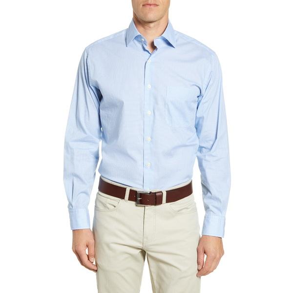 ピーター・ミラー メンズ シャツ トップス Dew Drop Regular Fit Button-Up Shirt Cottage Blue