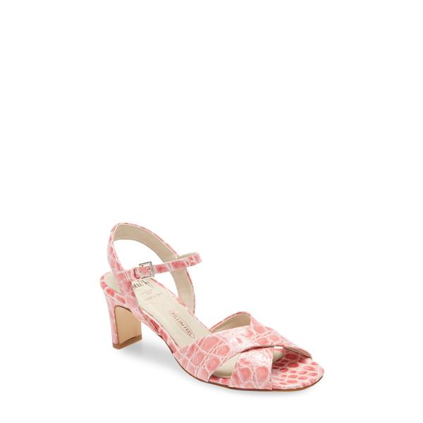 アマルフィーバイランゴーニ レディース サンダル シューズ Ermione Sandal Pink Leather