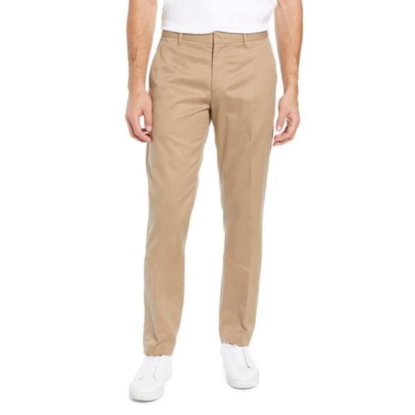 ボノボス メンズ カジュアルパンツ ボトムス Weekday Warrior Athletic Stretch Dress Pants Khaki Tan