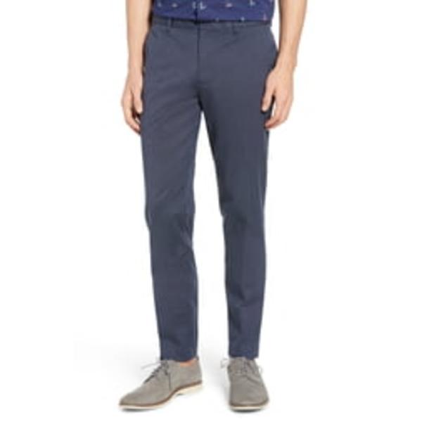 ボノボス メンズ カジュアルパンツ ボトムス Weekday Warrior Athletic Stretch Dress Pants Blue/ Grey