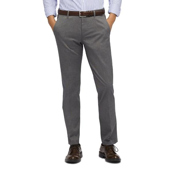 ボノボス メンズ カジュアルパンツ ボトムス Weekday Warrior Athletic Stretch Dress Pants Friday Grey Yarn Dye