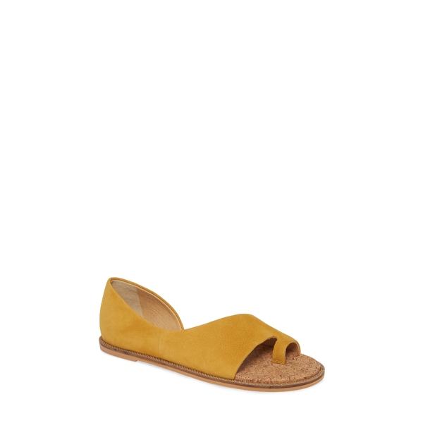 ラッキーブランド レディース サンダル シューズ Falinda Sandal Golden Yellow Leather