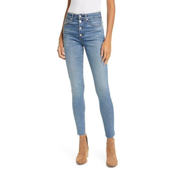 ラグアンドボーン レディース デニムパンツ ボトムス Nina High Waist Skinny Jeans Fire Islnd