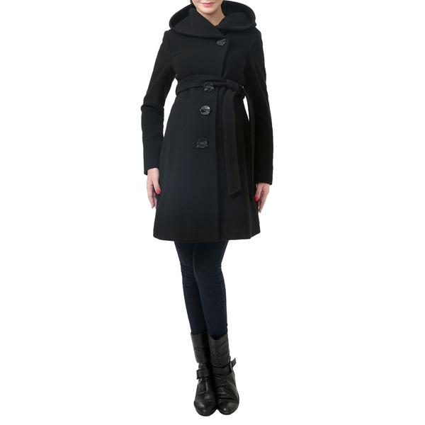 キミアンドカイ レディース コート アウター Lora Wool Blend Maternity Coat Black