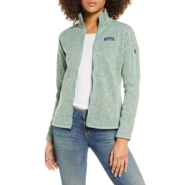 パタゴニア レディース ジャケット&ブルゾン アウター Better Sweater Jacket Gypsum Green