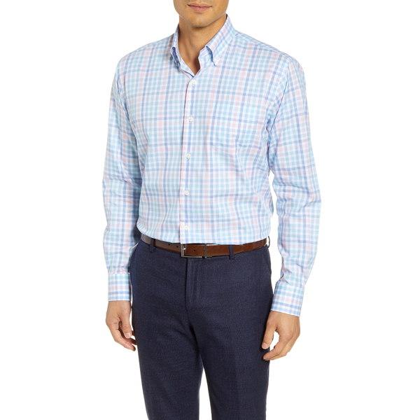 ピーター・ミラー メンズ シャツ トップス Vance Check Button-Down Shirt Cottage Blue